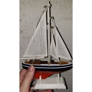 **9 inches tall** 3D model sailboat